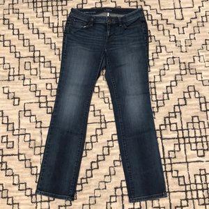 EUC LOFT Modern Straight Jeans